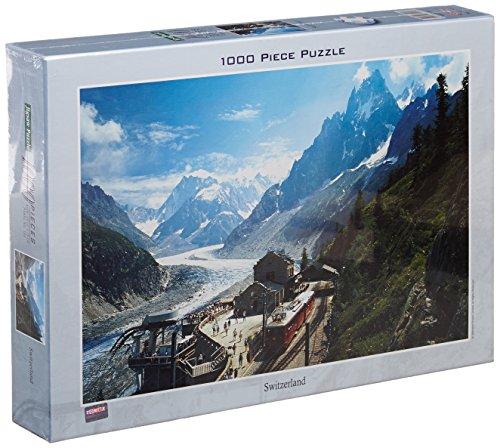 Preisvergleich Produktbild Tomax Switzerland 1000 Piece Jigsaw Puzzle by Tomax