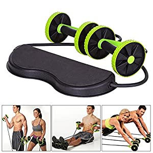 Abs Abdominal Exercise Wheel Gym Fitness Machine Body Strength Training Roller Home Gym