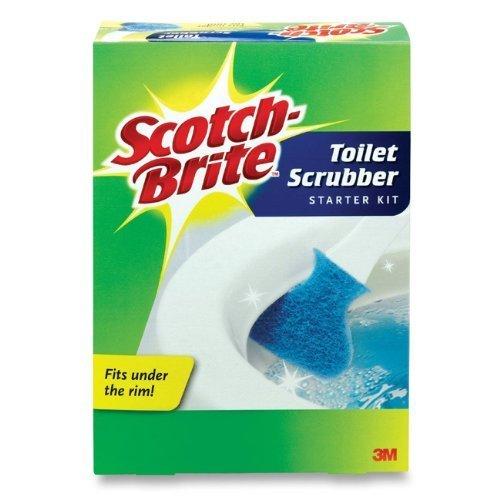 scotch-brite-kit-detergente-per-wc-usa-e-getta-con-1-manico-18-cartucce-di-ricarica-per-scotch-brite