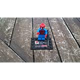 LEGO Super Heroes: Spiderman (Negro Web Pattern) Minifigura