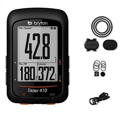 Bryton Rider 410C, Computer GPS Unisex – Adulto, Nero, M