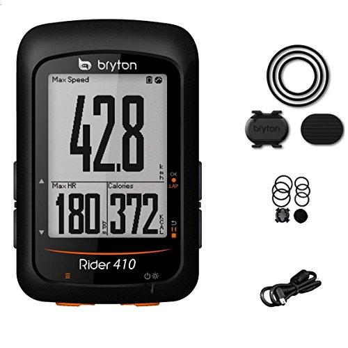Bryton Rider 410°C, Ordenadores GPS Unisex-Adulto, Color Negro, M