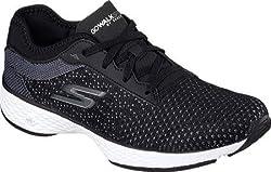Skechers Women s GOwalk Sport Walking Shoe Black/White 8.5 B(M) US