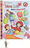 Hexe Lilli feiert Geburtstag: Der Bücherbär. Hexe Lilli für Erstleser. Mit Silbentrennung zum leichteren Lesenlernen