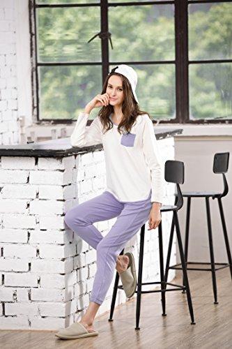 HACAI - Ensemble de pyjama - Femme Violet