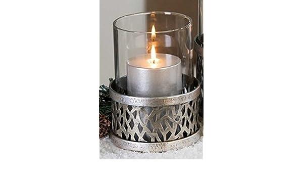 Amazon casablanca windlicht purley metall mit glaseinsatz