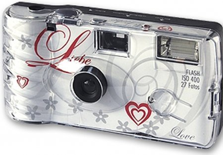 20x Disposable Camera Wedding Top Shot White