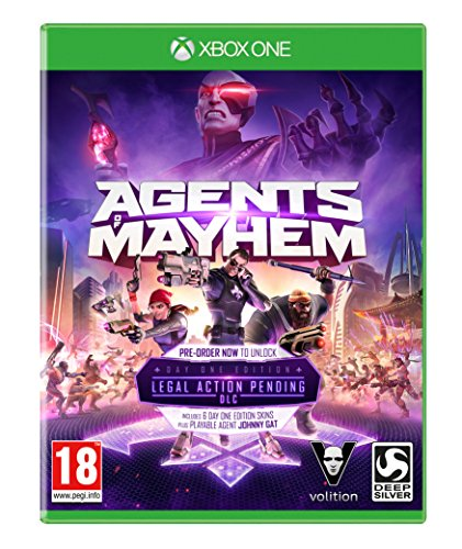 Agents of Mayhem: Day One Edition (XBOX One) [UK IMPORT]