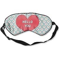 Comfortable Sleep Eyes Masks HelloYou Pattern Sleeping Mask For Travelling, Night Noon Nap, Mediation Or Yoga preisvergleich bei billige-tabletten.eu