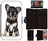 Flip Cover Schutz Hülle Größe L Handy Tasche Etui Case