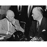 Vintage foto del presidente Dwight D. Eisenhower