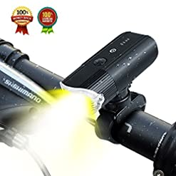 Luce anteriore per bicicletta ricaricabile USB Light Bike, 4000mAh / 1000