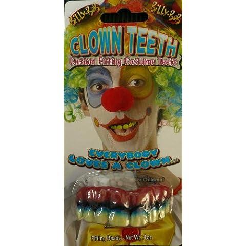 Billy Bob Payaso falsos dientes (Talla única)