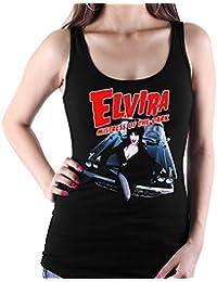 35mm - Camiseta Mujer Tirantes - Elvira Mistress of The Dark - Women s Tank  Top 912bbc058c0