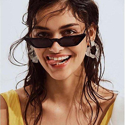 Topgrowth Occhiali da Sole Cat Eye Donna Vintage Piccola Cornice UV400 Occhiali da Donna Retro Eyewear Sunglasses