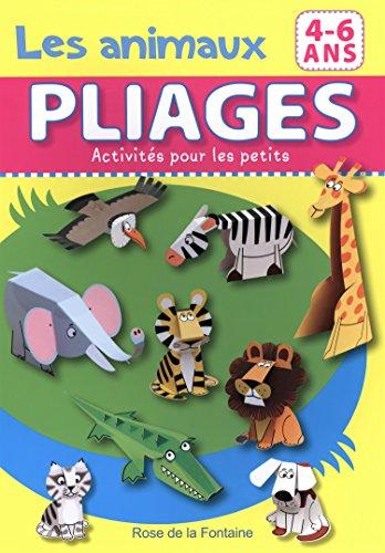 Animaux - Pliages Activites pour les Petits