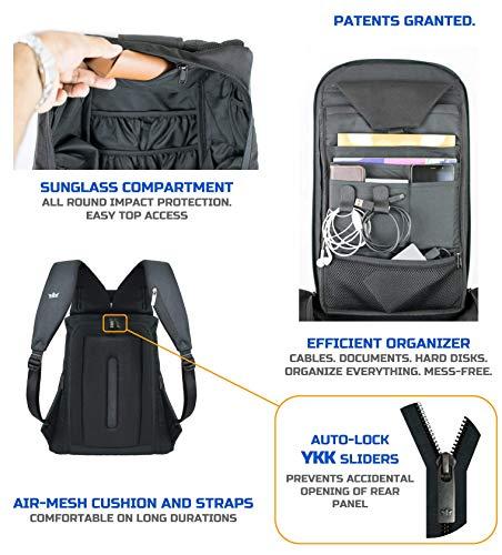407eacbe76 ... Gods Ghost Laptop Backpack - Minimalist Laptop Bag ...