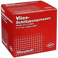 SCHLITZKOMPRESSEN Vlies 5x5 cm steril 4fach 50 St Kompressen preisvergleich bei billige-tabletten.eu