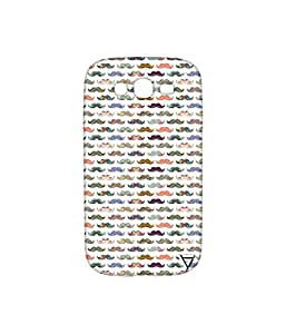 Vogueshell Mustache Pattern Printed Symmetry PRO Series Hard Back Case for Samsung Galaxy Grand Neo