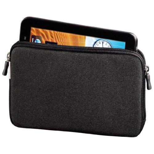 Hama Tablet Tasche (weich gefüttert, sichere Aufbewahrung u.a., geeignet für Fire HD, Samsung T230 T231 T235, 17,8 cm (7 Zoll)) schwarz (Kindle Hd 7-tragetasche Fire)