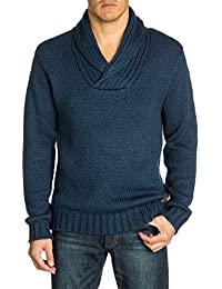 Quiksilver Chester - Pull - Uni - Col châle - Manches longues - Homme