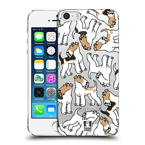 Head Case Designs Schipperkes Race De Chien Modèle 9 Étui Coque D'Arrière Rigide Pour Apple iPhone 5 / 5s / SE Fox-Terrier Câblé