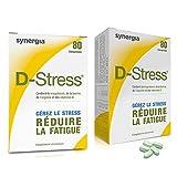 D-Stress anti-stress pour faire face aux situations stressantes. D-Stress agit en 30 mn en stoppant les montées de stress. La formulation de D-Stress® est une véritable référence sur le marché et a fait l'objet d'un brevet international. D-Stress® co...