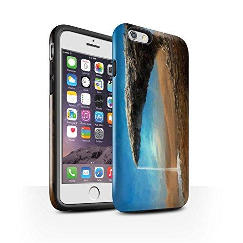 Offiziell Chris Cold Hülle / Glanz Harten Stoßfest Case für Apple iPhone 6S / Pack 6pcs Muster / Galaktische Welt Kollektion Exoplanet