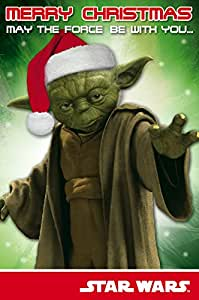 Star Wars Classic Christmas Card