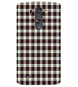 PrintVisa Corporate Print & Pattern Checks 3D Hard Polycarbonate Designer Back Case Cover for LG G3 MINI