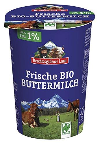 Berchtesgadener Land Bio Naturland frische Buttermilch (1 x 500 gr)