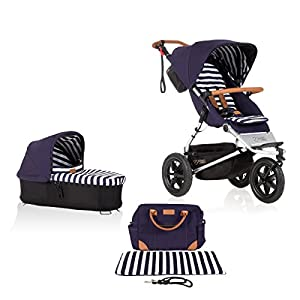 Mountain Buggy Model: Urban Jungle Luxury Collection Nautical Including Changing Bag and Baby seat (carrycot Plus)   12