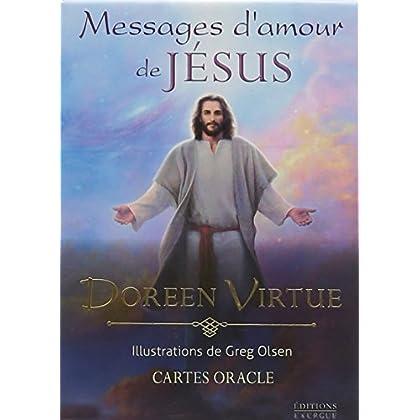 Messages d'amour de Jésus : Coffret avec cartes