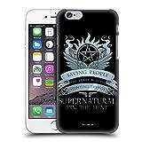 Head Case Designs Officiel Supernatural Saving People Logo Vecteurs Coque Dure pour l'arrière Compatible avec iPhone 6 / iPhone 6s
