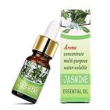 Malloom, 10 ml Reine & Natürliche Ätherische Öle Aromatherapie Duft Hautpflege Knospe Natürliche Aroma Pflanze Tropfflasche Aromatherapie Ätherisches Öl Jasmin