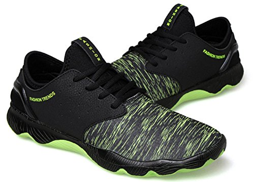 NSPX I nuovi pattini di pallacanestro di calza i pattini di sport di formato maschio / grande i pattini correnti delle scarpe da corsa delle coppie del merletto di modo , 42 GREEN-42