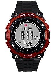 TTLIFE TS17 Männer Militär Sport Uhren Mode Silikon wasserdichte LED Digital Armbanduhr für Männer Uhr