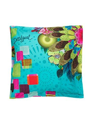 Pillow Case Desigual 61pl0y6Mojito Green, green, 65 X 65 cm