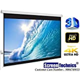 Pro Motorized Projector Screen 100 Inch Diagonal