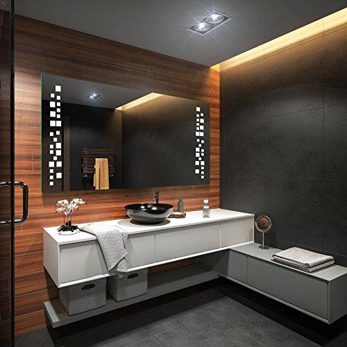 Badezimmer Spiegel – Design Badspiegel mit LED Beleuchtung - 3