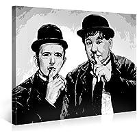 Gallery of Innovative Art – Laurel & Hardy – 100x75cm