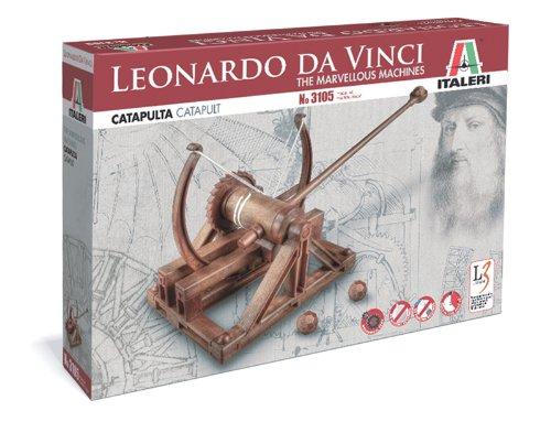 Italeri 3105 - Leonardo Da Vinci: Catapulta - Catapult  Model Kit