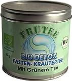 BIO DETOX Fastentee mit Grünem Tee 60g Dose | MHD Ware | MHD 31.12.2018