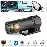 Prevently Dashcam Auto Camera, Autokamera Dash Camera Auto Dash Cam Kfz-Kamera Mibao Full HD1080P Versteckte Auto Kamera