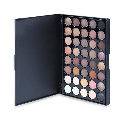 Ombre à Paupières Maquillage Palette 40 Couleur De Couleur Vive, CAN_Deal Matte Shimmer Glitter Ton Cosmétiques à Base d'Eau Palette Multicolore Beauté Tool Kit