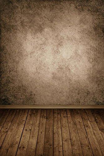 Studio photo professionnel Fond, Pingtr Wood Wall Floor Photographie Studio Prop Toile de fond Fond Lover Beau Paillettes Haloes Photographie Fond studio Props Fond Jour de P