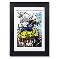 Mounted Gifts Brooklyn Nine Nine 99 Cast Signed Autograph A4 Poster Photo Print TV Show Series Season Framed DVD Boxset Memorabilia Gift (POSTER ONLY)