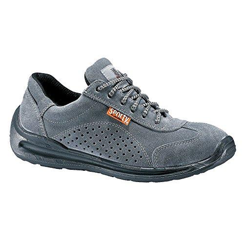 Schuh-Sicherheit Bass Lemaitre S1P Targa SRC grau
