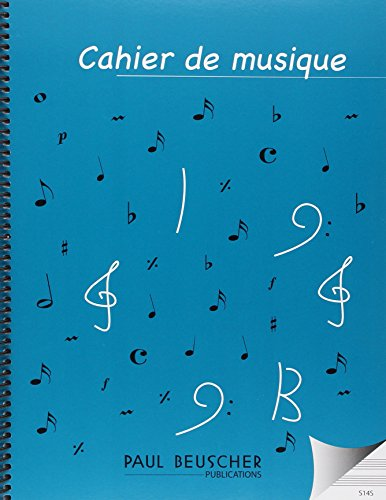 Partition : Cahier a spirales 96 pages pb 150 14 portees