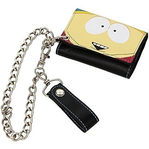 Gazzetta South Park Cartman Trifold Portafoglio con catena